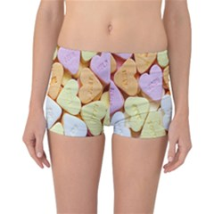 Candy Pattern Reversible Bikini Bottoms