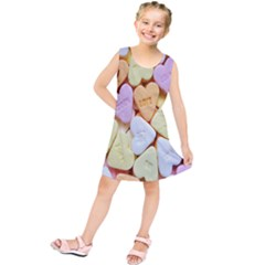 Candy Pattern Kids  Tunic Dress