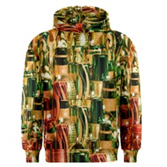 Candles Christmas Market Colors Men s Pullover Hoodie