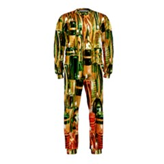 Candles Christmas Market Colors Onepiece Jumpsuit (kids)