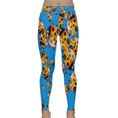 Cartoon Ladybug Classic Yoga Leggings