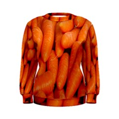 Carrots Vegetables Market Women s Sweatshirt