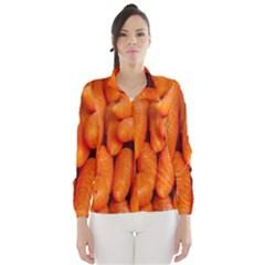 Carrots Vegetables Market Wind Breaker (women)