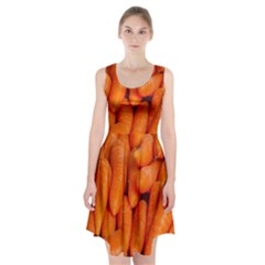 Carrots Vegetables Market Racerback Midi Dress