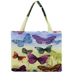 Butterfly Painting Art Graphic Mini Tote Bag
