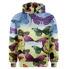 Butterfly Painting Art Graphic Men s Pullover Hoodie