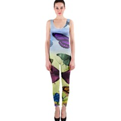 Butterfly Painting Art Graphic OnePiece Catsuit