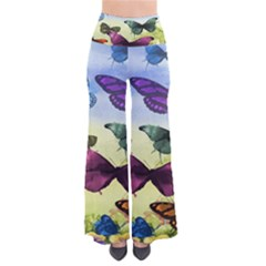 Butterfly Painting Art Graphic Pants