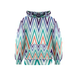 Chevrons Colourful Background Kids  Zipper Hoodie