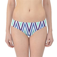 Chevrons Colourful Background Hipster Bikini Bottoms