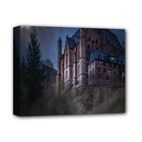 Castle Mystical Mood Moonlight Deluxe Canvas 14  X 11