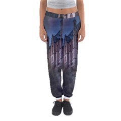 Castle Mystical Mood Moonlight Women s Jogger Sweatpants