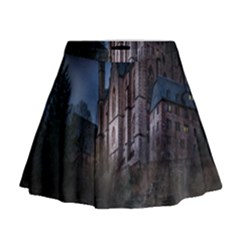 Castle Mystical Mood Moonlight Mini Flare Skirt