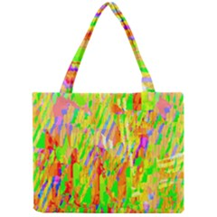 Cheerful Phantasmagoric Pattern Mini Tote Bag