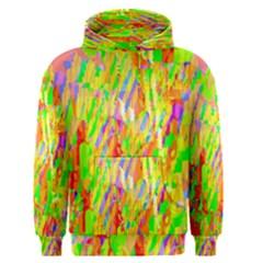 Cheerful Phantasmagoric Pattern Men s Pullover Hoodie