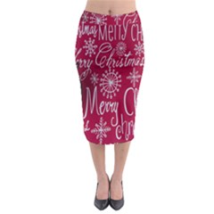 Christmas Decorations Retro Midi Pencil Skirt