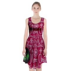 Christmas Decorations Retro Racerback Midi Dress