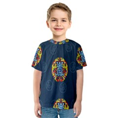 China Wind Dragon Kids  Sport Mesh Tee