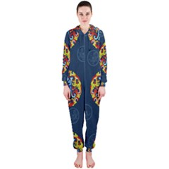China Wind Dragon Hooded Jumpsuit (ladies)