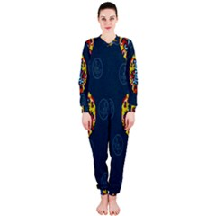 China Wind Dragon Onepiece Jumpsuit (ladies)