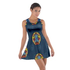 China Wind Dragon Cotton Racerback Dress