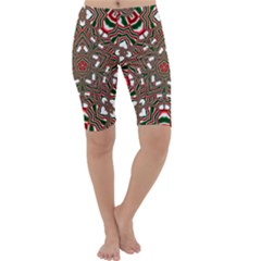 Christmas Kaleidoscope Cropped Leggings