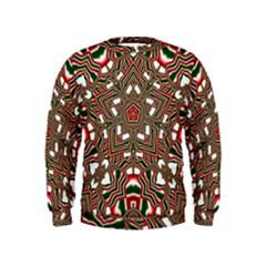 Christmas Kaleidoscope Kids  Sweatshirt