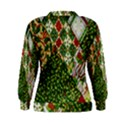 Christmas Quilt Background Women s Sweatshirt View2