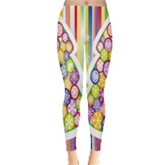 Christmas Tree Colorful Leggings