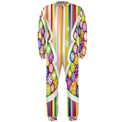 Christmas Tree Colorful OnePiece Jumpsuit (Men)
