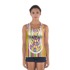 Christmas Tree Colorful Women s Sport Tank Top