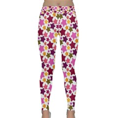 Christmas Star Pattern Classic Yoga Leggings