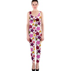 Christmas Star Pattern OnePiece Catsuit