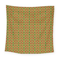 Christmas Trees Pattern Square Tapestry (large)