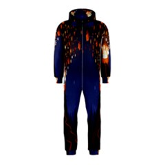 Christmas Volcano Hooded Jumpsuit (Kids)