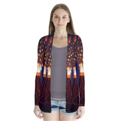 Christmas Volcano Cardigans