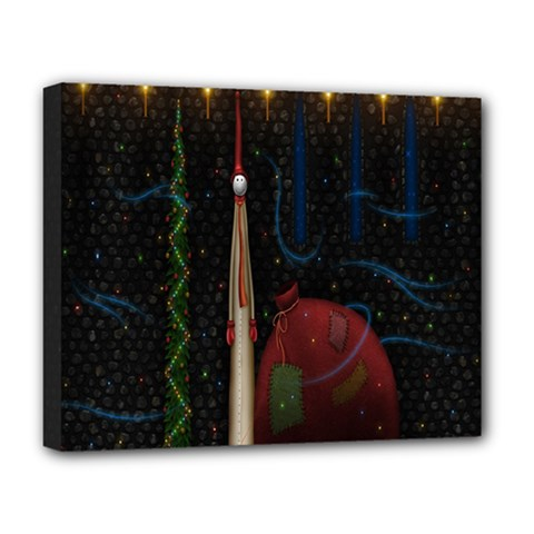 Christmas Xmas Bag Pattern Deluxe Canvas 20  X 16