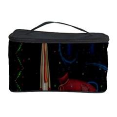 Christmas Xmas Bag Pattern Cosmetic Storage Case
