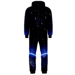 Christmas Xmas Night Pattern Hooded Jumpsuit (Men)