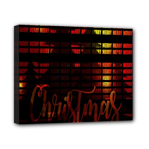 Christmas Advent Gloss Sparkle Canvas 10  x 8
