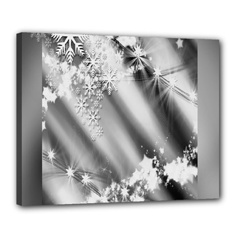 Christmas Background  Canvas 20  x 16