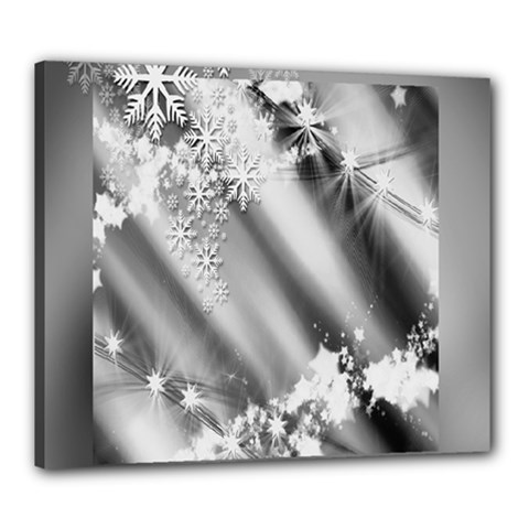 Christmas Background  Canvas 24  x 20