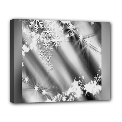 Christmas Background  Deluxe Canvas 20  x 16