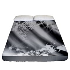 Christmas Background  Fitted Sheet (california King Size)