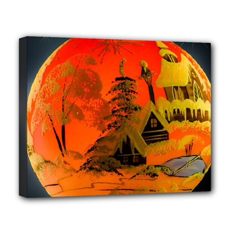 Christmas Bauble Deluxe Canvas 20  x 16
