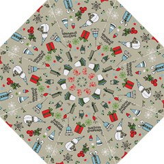 Christmas Xmas Pattern Golf Umbrellas