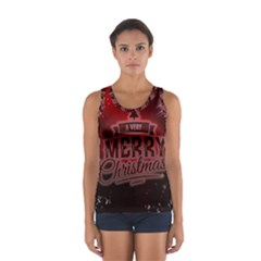 Christmas Contemplative Women s Sport Tank Top