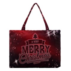Christmas Contemplative Medium Tote Bag