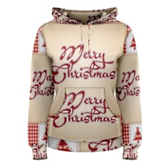 Christmas Xmas Patterns Pattern Women s Pullover Hoodie