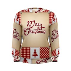 Christmas xmas Patterns Pattern Women s Sweatshirt